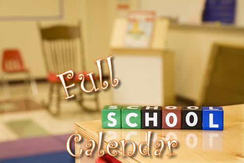 Full School Calendar