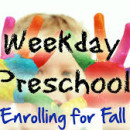 Preschool Openings available for Threes and Fours