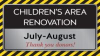 Renovation of Children's Areas