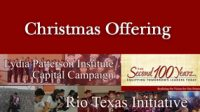 Christmas Offering – Lydia Patterson Institute