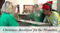 January 2018 Mission Emphasis – Christmas Breakfast for the Homeless