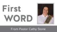 First Word from Pastor Cathy – Bridge Building