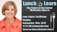 Lunch & Learn – Leah Taylor on a Way Forward Commission UUMC