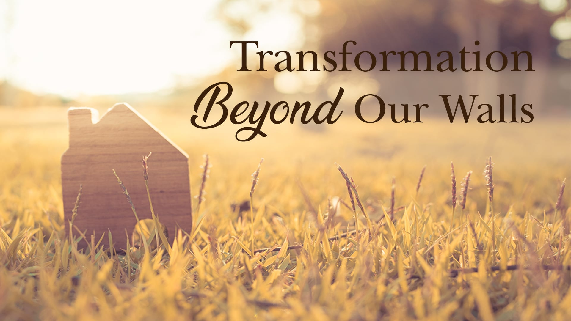 Transformation Beyond Our Walls