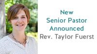 New Senior Pastor Introduced