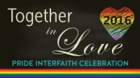 """Together in Love"" – Pride Interfaith Service (08/28/2016)"