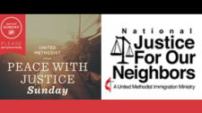 June 2016 Mission Emphasis – JFON & Peace with Justice Sunday