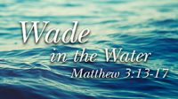 """Wade in the Water"" – Rev. Taylor Fuerst, 1/15/2017"